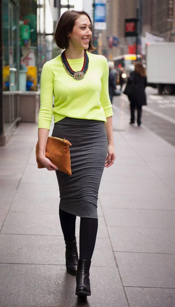 49 roupas de saia de lápis que vão fazer você parecer um verdadeiro #Girlboss