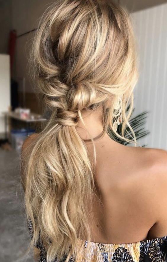 Incrível 10 penteados de verão para senhoras de 2018