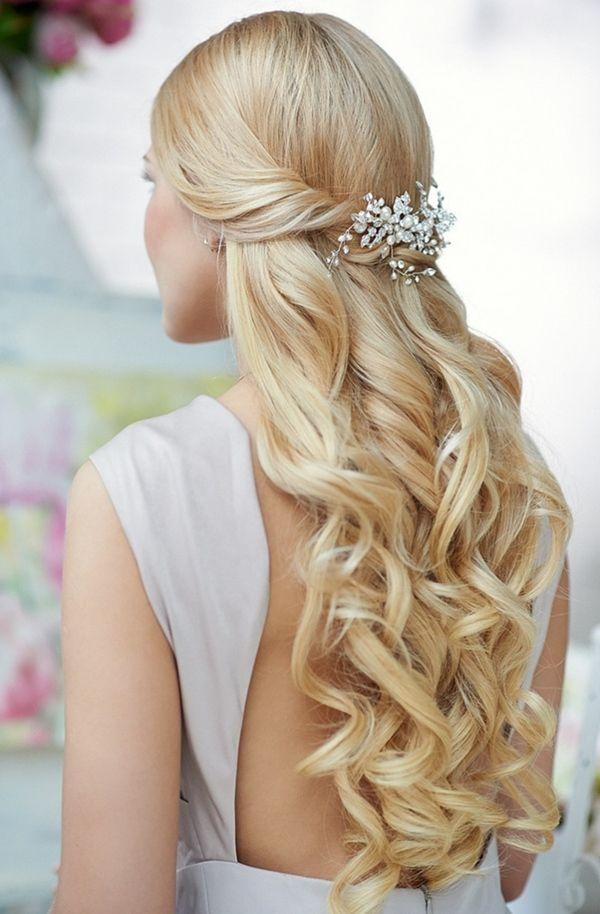 Penteados bonitos para cabelos sedosos de meninas
