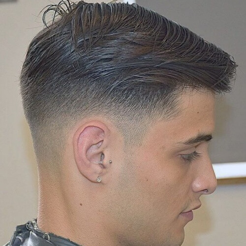 Corte de pelo taper face