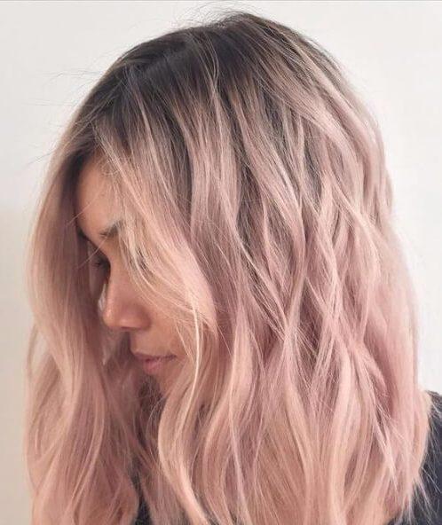 50 penteados frescos de comprimento médio