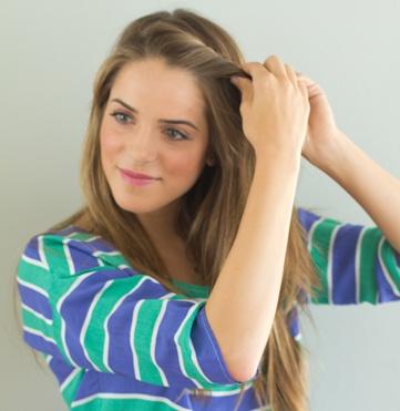Mais bonitos 5 penteados de sopro de verão para cabelos curtos / médios
