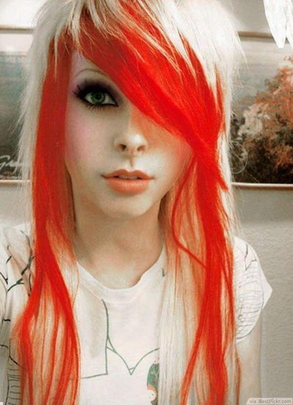 44 surpreendentes penteados emo que vão explodir sua mente