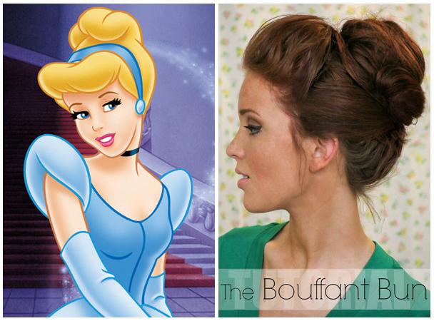 Idéias incríveis para como olhar o seu penteado como Cinderela