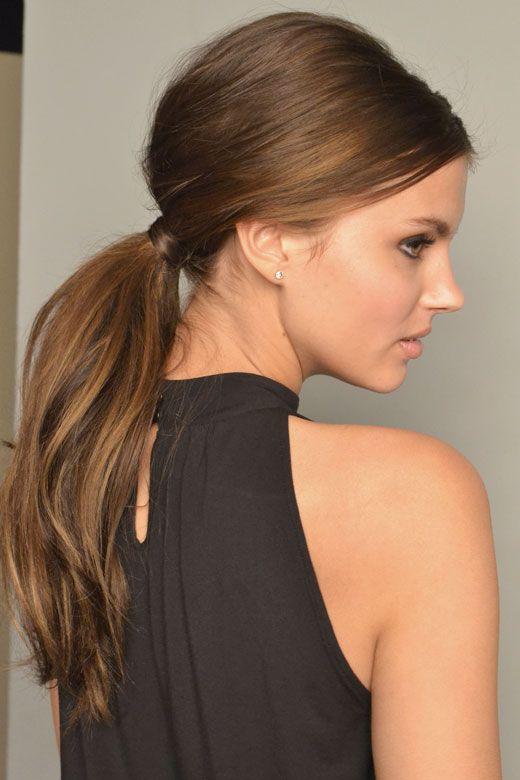 Penteados simples, fáceis e rápidos para cabelos lisos