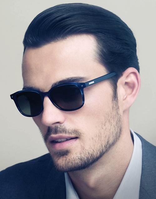 Excelentes penteados olhando glamourosa para homens