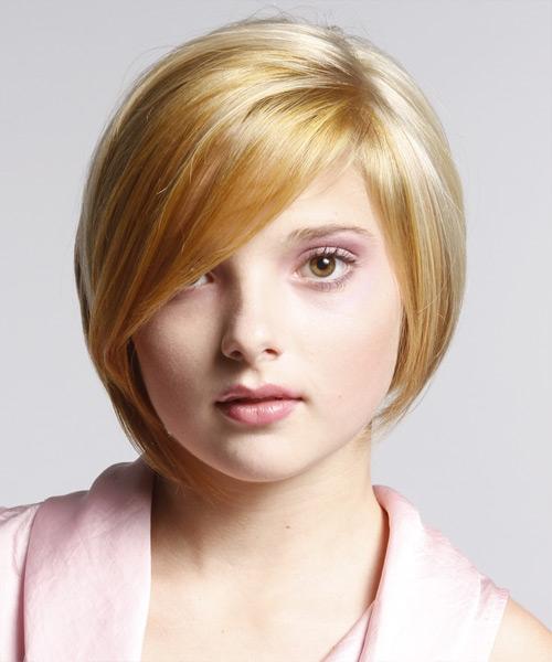 Estilos de cabelo elegantes perfeitos para rostos gordinhos gordinhas