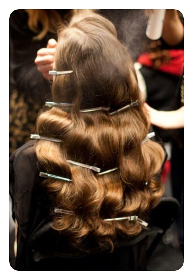 68 penteados de ondas de dedo vintage você vai querer