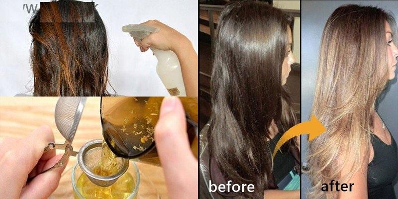 Ilumine seu cabelo naturalmente preto em casa com ingredientes naturais
