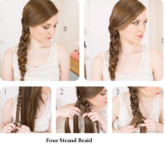10 lindas idéias de penteado trançado para meninas