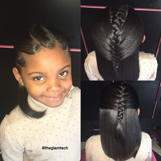 Penteados trançados incríveis para crianças em estilo único