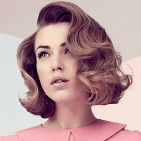 Inspiração Vintage penteado e corte de cabelo idéias