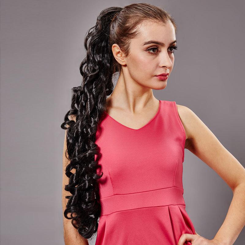 Melhor Longo Weave Rabo de Cavalo Estilos para Meninas