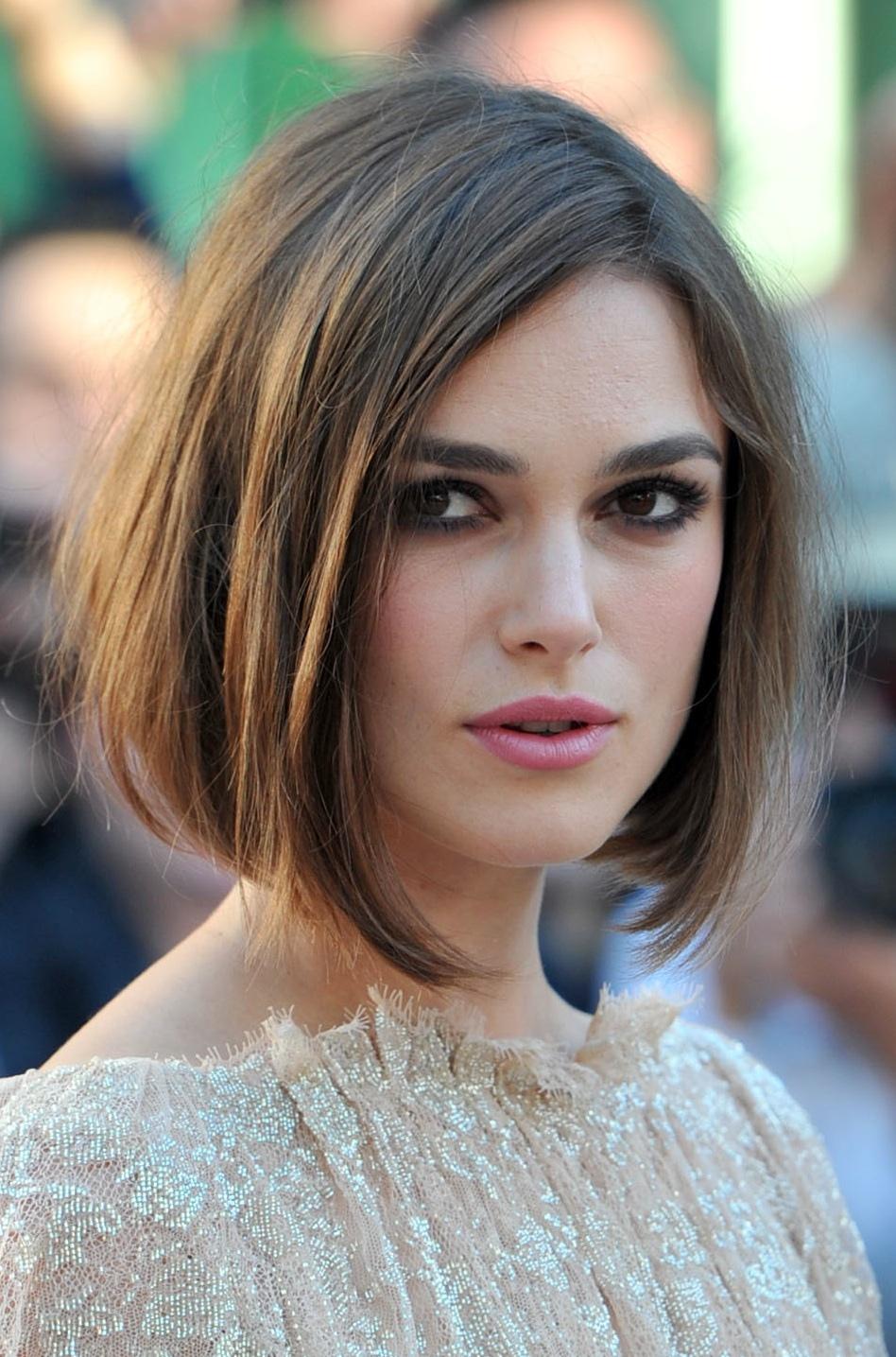 Cortes de cabelo melhores & surpreendentes para mais senhoras da cara do tamanho