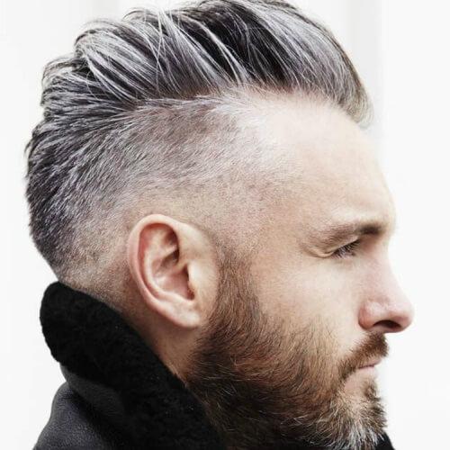 Penteados mohawk para homens cabelo curto