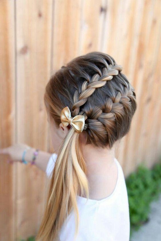 Impressione outras mães com estes penteados mais bonitos e diferentes para as meninas