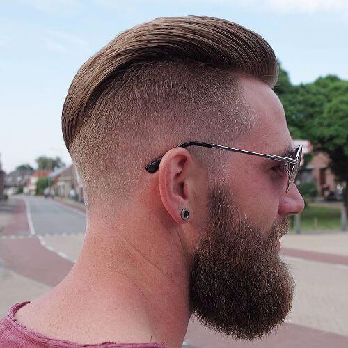 30 idéias do penteado do falcão do falso para homens