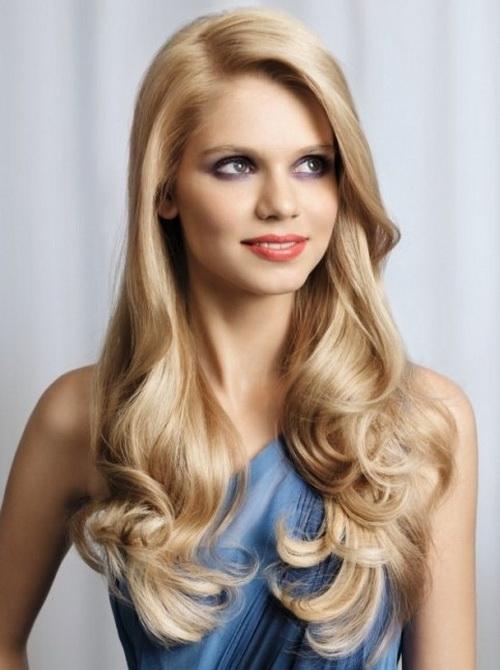 Penteados surpreendentes para cabelos longos rosto redondo