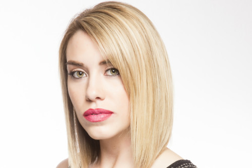 Últimas ideias para o rosto oval penteados tendências 2018