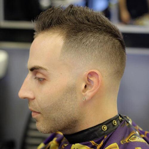 50 penteados espetados para homens