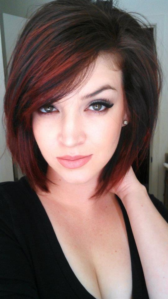Corte de cabelo atrevido para meninas m  / odern