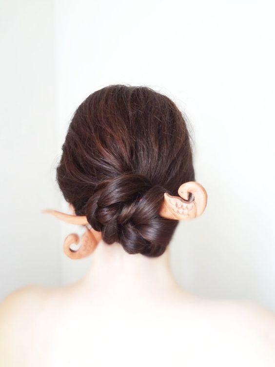 Estilo chinês varas de cabelo moda para meninas
