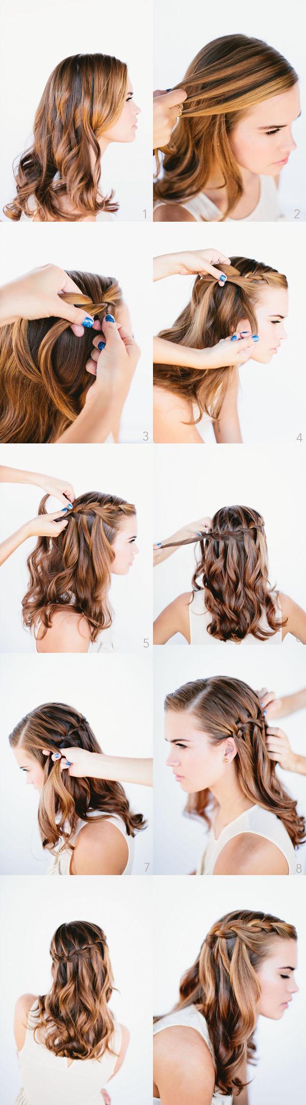 Como posso modelar meu cabelo cacheado com passos fáceis em casa?