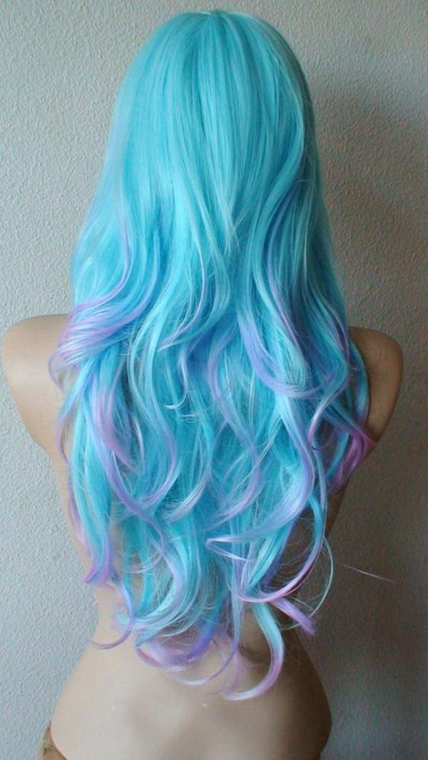 44 incríveis ideias de cabelos azuis e roxos que vão impressionar sua mente