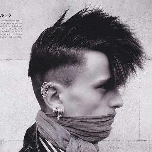 50 Penteados Do Punk Para Caras Bom Penteados