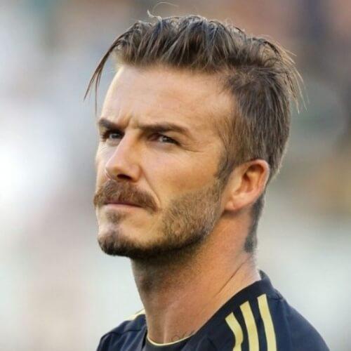 50 penteados irresistíveis de David Beckham