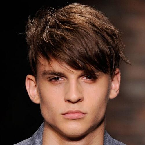 50 penteados desgrenhados para homens