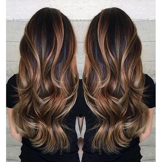 Siga estas melhores ideias de cores de cabelo para o outono inverno 2018 -17
