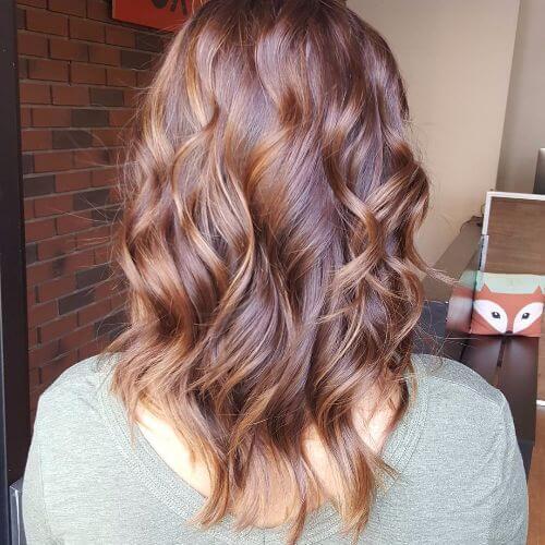 100 caramelo destaca idéias para todas as cores de cabelo