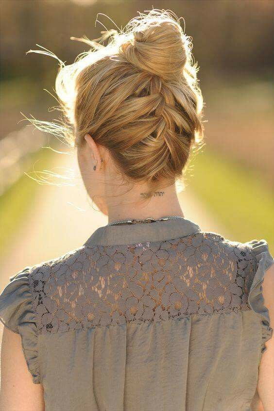 Top elegante 2018 penteado Casual procura meninas modernas