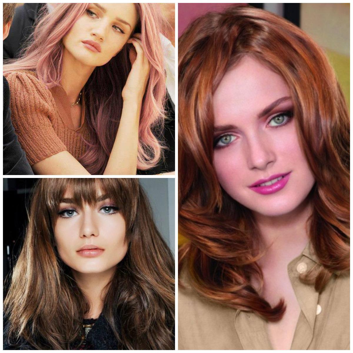 Idéias de cores de cabelo útil e moderno para senhoras elegantes