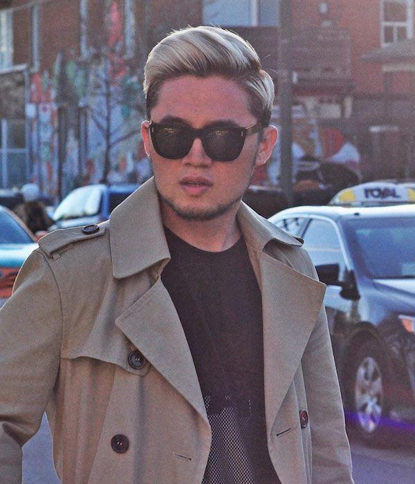 cor surpreendente do cabelo do estilo da rua para homens (4)