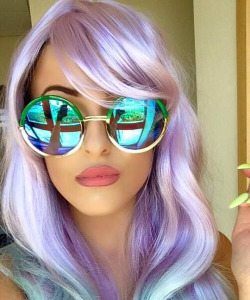 cabelo de sereia hipster