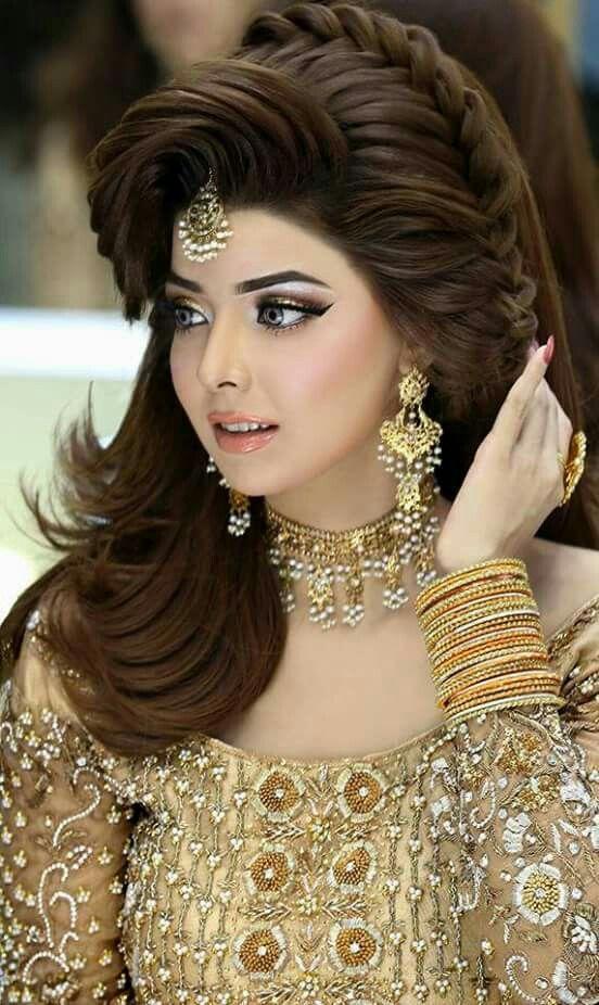Elegante e fácil de fazer Walima Hairstyle Ideas For Girls