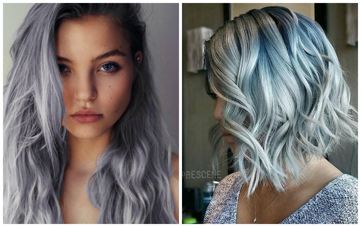2018 tendência mais legal de denim inspirado cor de cabelo para meninas