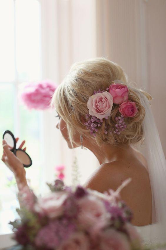 Penteados updo casamento para meninas na moda: