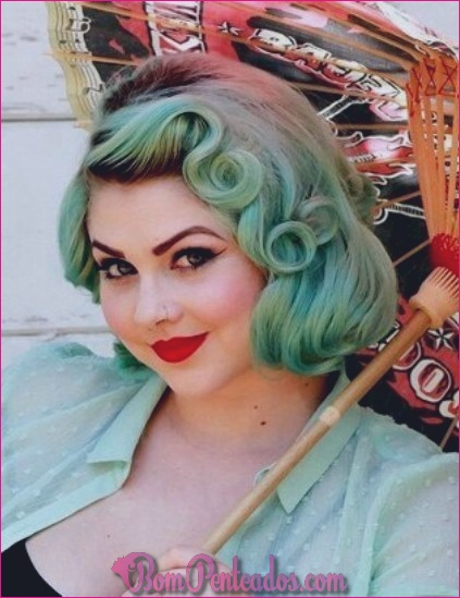 15 Pin Up Penteados Elegantes