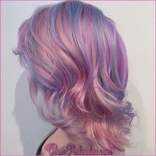 20 fáceis de fazer penteados rosa
