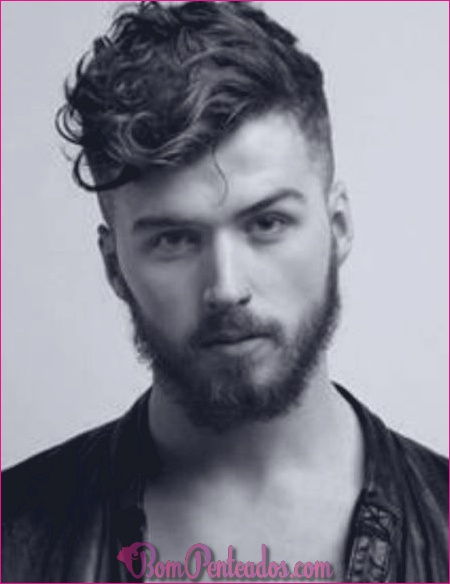 20 Penteados Encaracolados Exclusivos para Homens