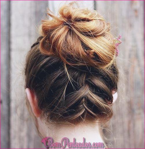 15 penteados fáceis de comprimento médio