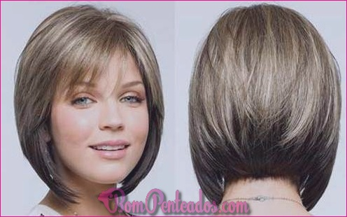30 penteados diferentes com franja