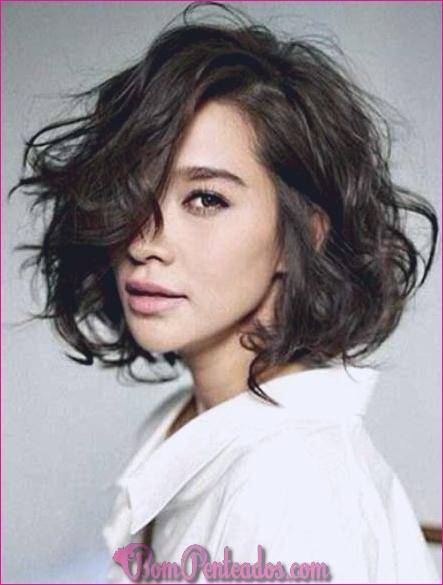 Penteados curtos para cabelos finos