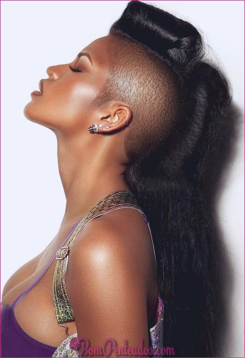 15 deslumbrantes penteados mohawk