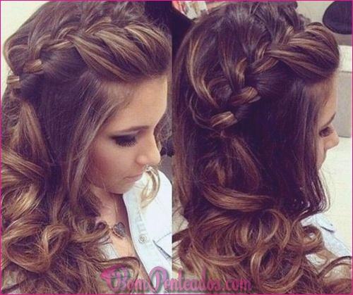 15 penteados exclusivos de tranças laterais