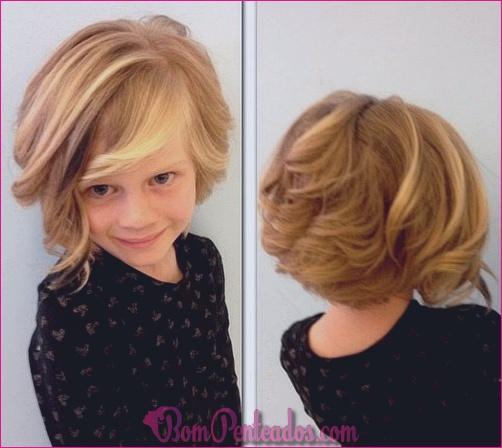 20 impressionantes penteados curtos e cortes de cabelo para meninas