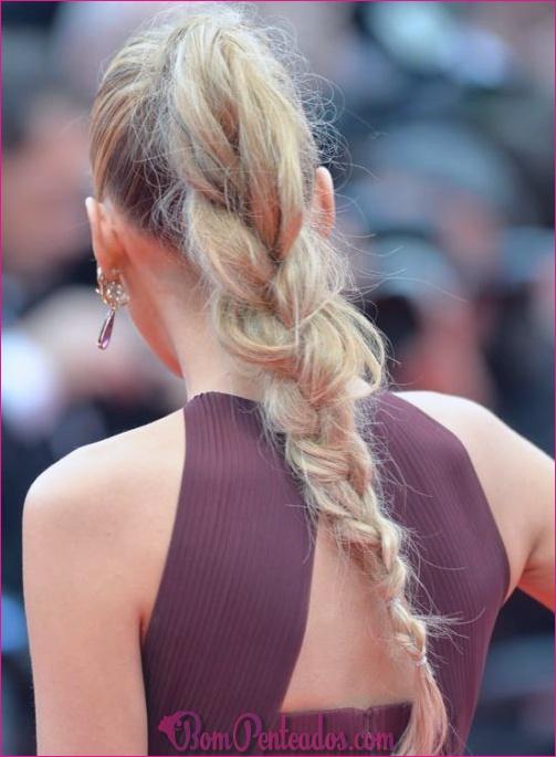Penteados Frizz elegante e fácil